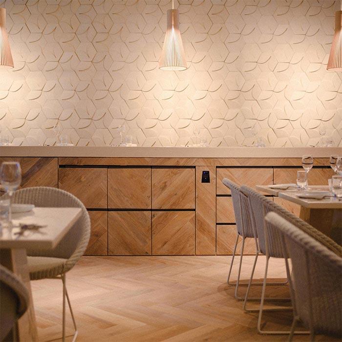 prachtig design interieur bij restaurant manna in nijmegen